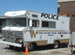Houston Police Winnebago