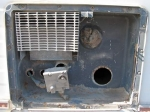 Hot Water Heater Compartment